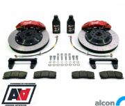 RCM / ALCON 6 Pot Front Brake Kit Red 343mm RCM2934